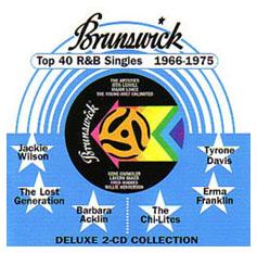 Brunswick Top 40 R&B Singles 1966 - 1975