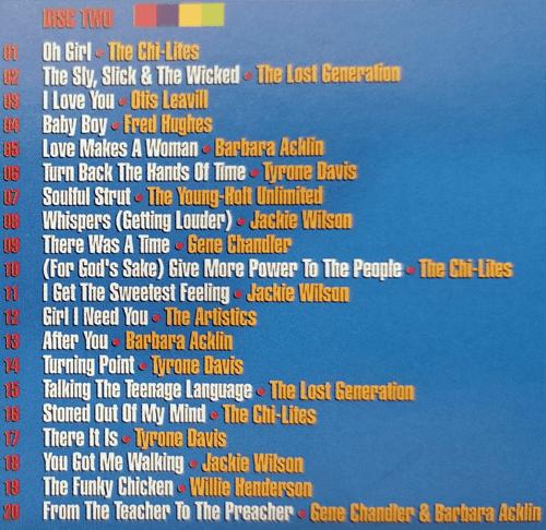 Brunswick Records Top 40 R&B Singles Disc Two