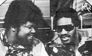 Buddy Miles with Stevie Wonder