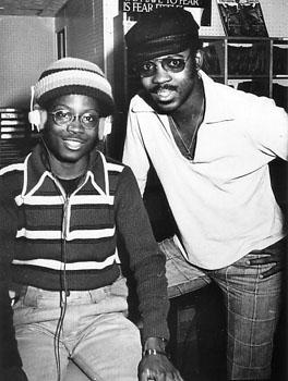 Harvey Mason with King from Powerhouse Radio