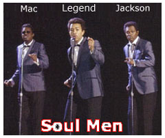 Soul Men Bernie Mac, John Legend, and Samuel L. Jackson